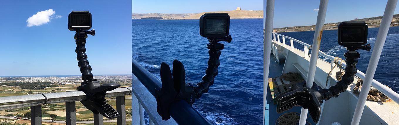 GoPro Jaws & Gooseneck