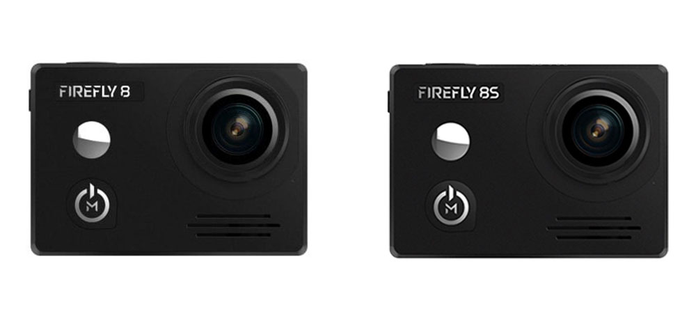 Hawkeye Firefly 8 Lite vs Firefly 8S Action Camera