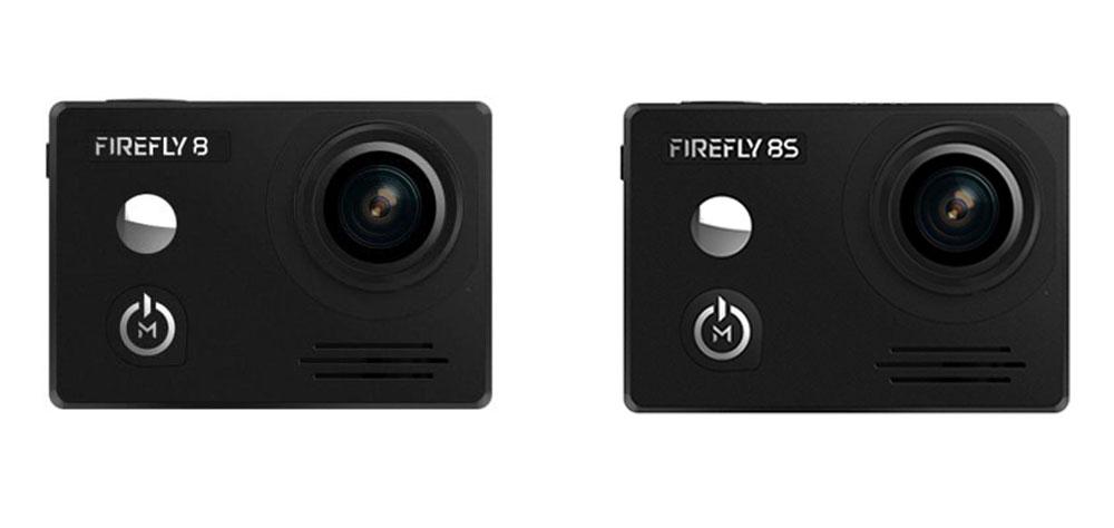 Hawkeye Firefly 8 Lite vs Firefly 8S Action Camera