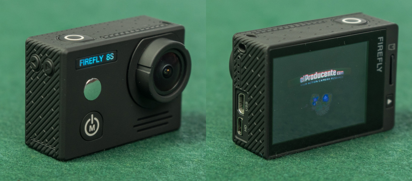 Hawkeye Firefly 8S - 170° lens version - front- and backside