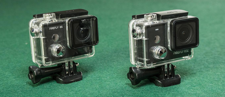 Firefly 8S vs Firefly 8SE - underwater case
