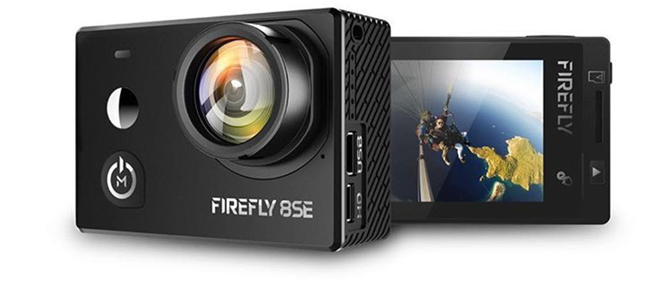 Hawkeye Firefly 8SE featuring a touchscreen