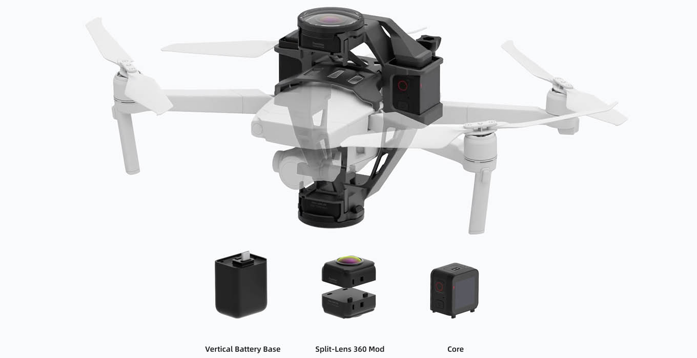 Insta360-ONE-R-Aerial-Package-DJI-Mavic-Pro-2-360-video