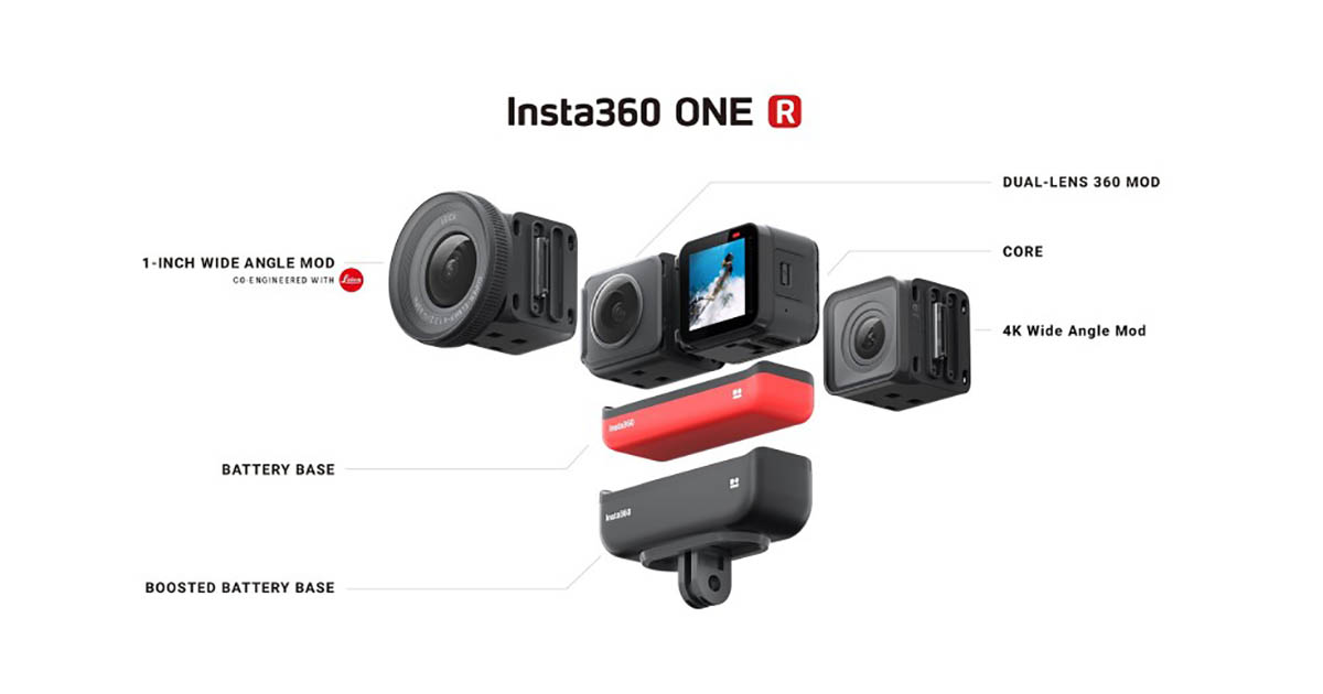 Insta360 One R The Best 360 Action Camera In 2020 In