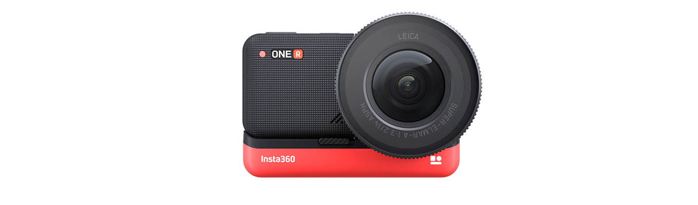 "Insta360 ONE R - ""1-inch edition"" - 1"" sensor action camera with Leica lens"