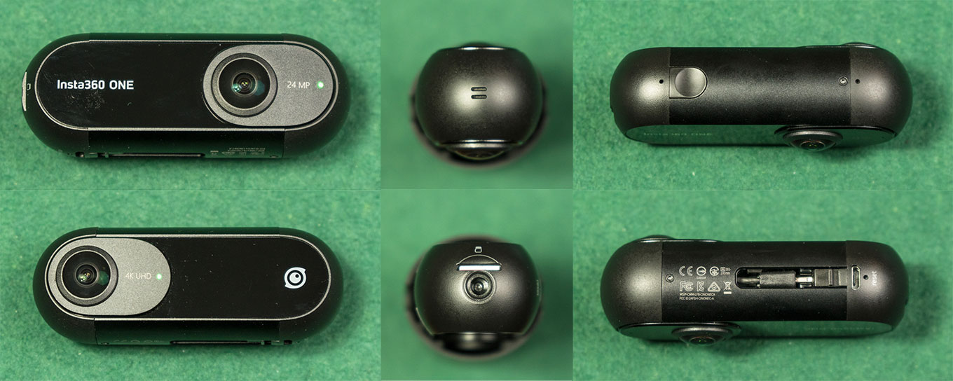 Insta360 One - Body, Buttons & Ports