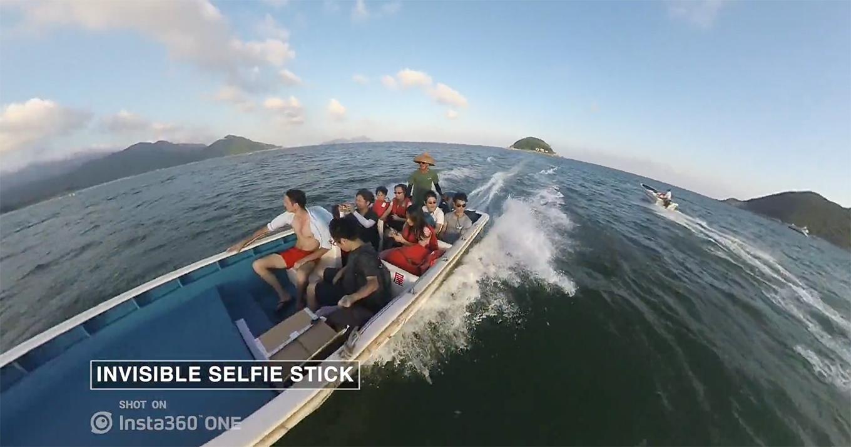 Insta360 One - Invisible Selfie Stick