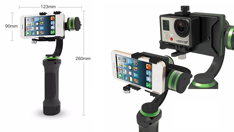 Lanparte HHG-001 Gimbal for Smartphone & GoPro
