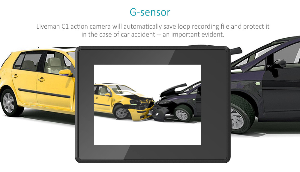 Lesports Liveman C1 G-sensor