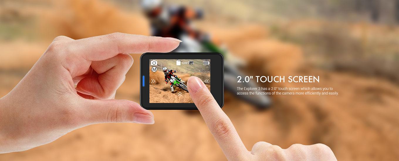 """MGCOOL Explorer 3 - 2"""" Touchscreen"""
