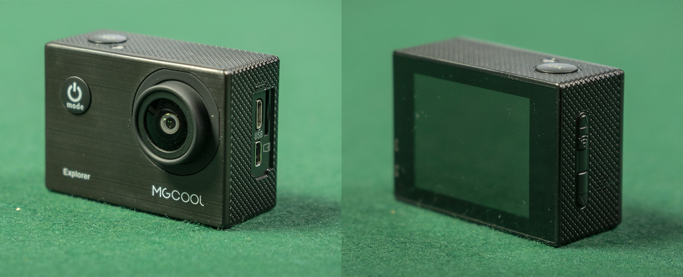 MGCOOL Explorer - Front- and Backside View