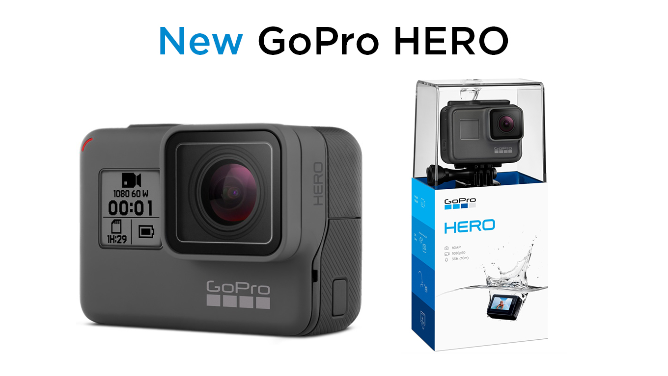 New entry level GoPro HERO