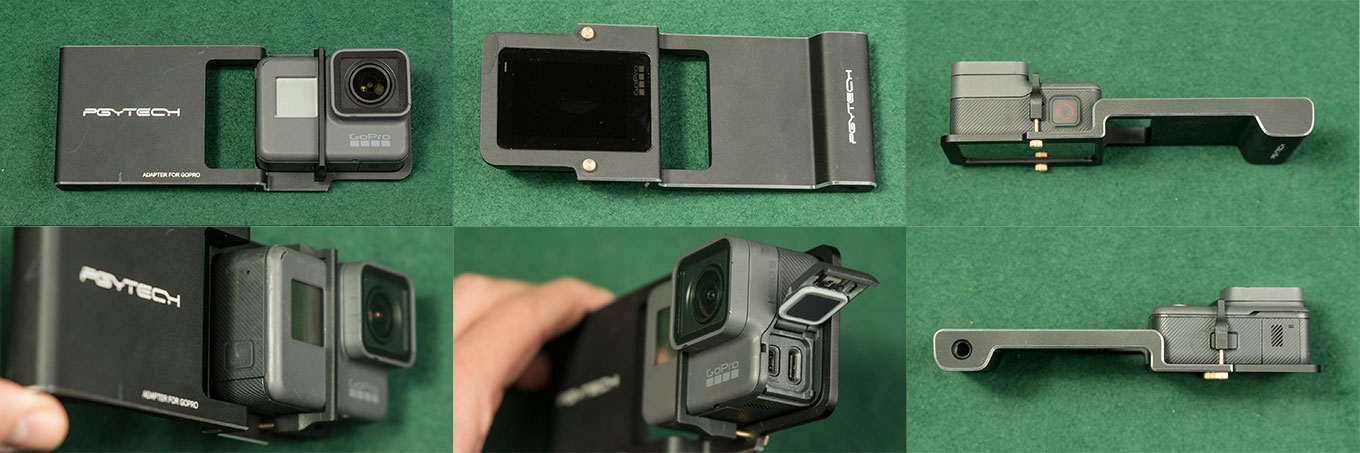 PGY Adapter for GoPro and Smartphone Gimbal