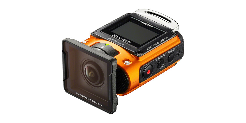 Ricoh WG-M2 with underwater lens protector