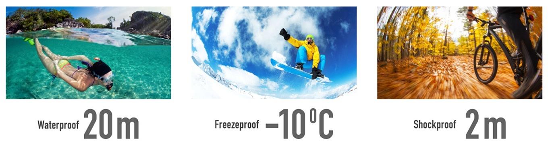 Ricoh WG-M2 - Waterproof, Freezeproof & Shockproo