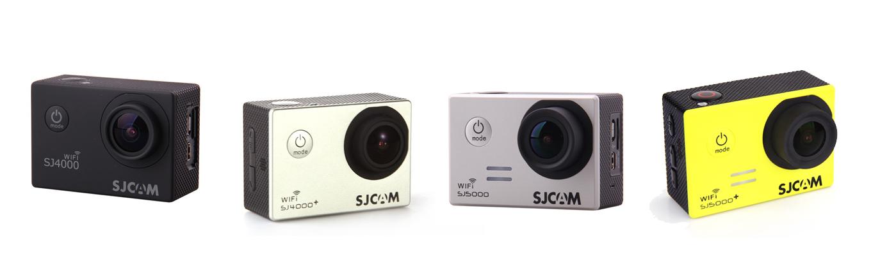 SJ4000 (wifi) vs. SJ4000+ vs. SJ5000 (wifi) vs. SJ5000+