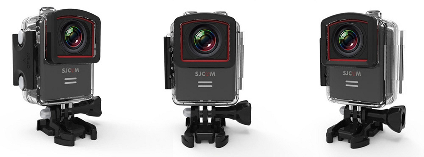 SJCAM M20 in underwater case
