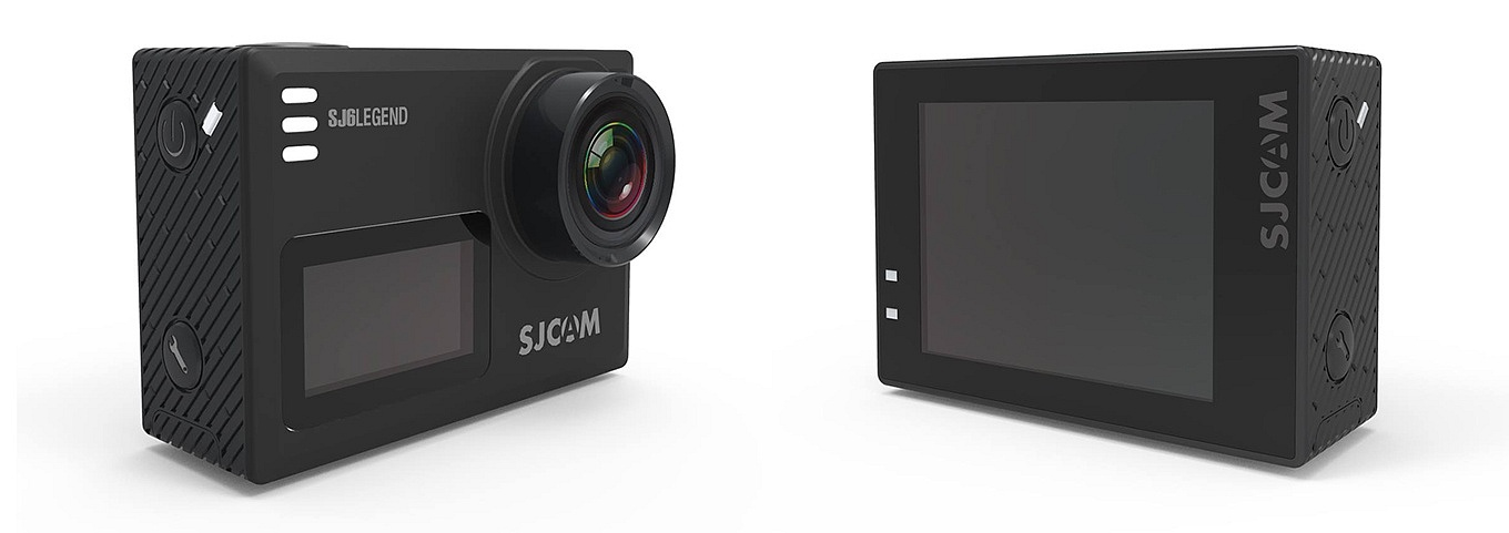 SJCAM SJ6 Legend - Fron- & Backside