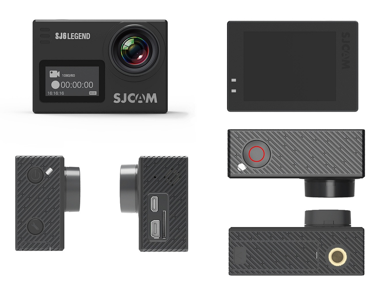 SJCAM SJ6 Legend - Body, Buttons & Ports