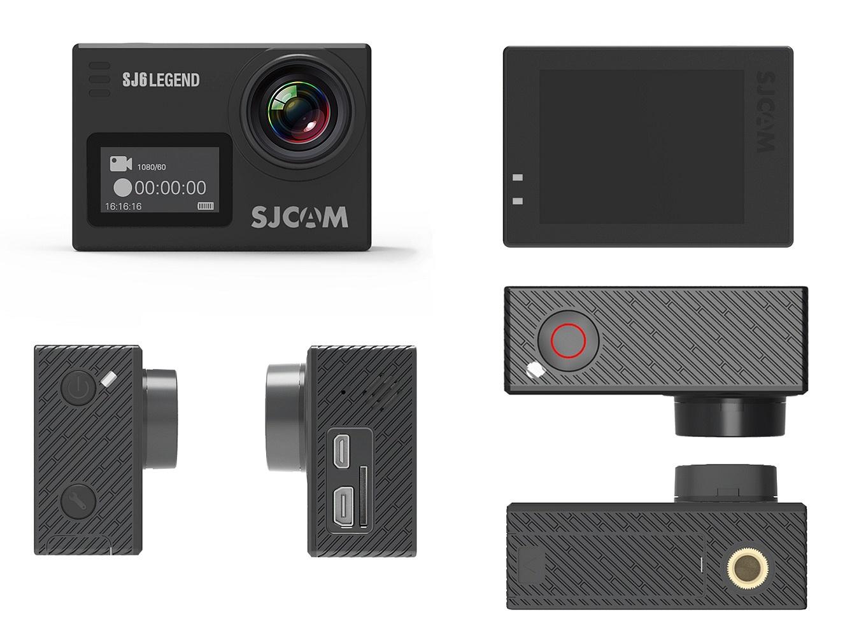 SJCAM SJ6 Legend - Body, Buttons & Ports