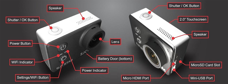 SJCAM SJ7 Star - Ports & Buttons