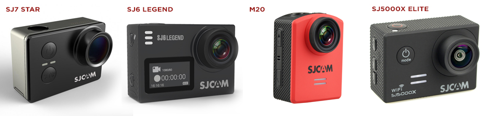 SJCAM SJ7 Star - SJ6 Legend - M20 - SJ5000x elite