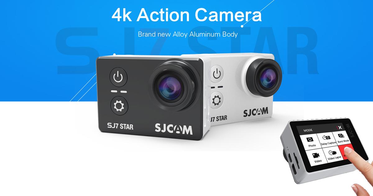 Sjcam Sj7 Star Sjcam S First Real 4k Action Camera El