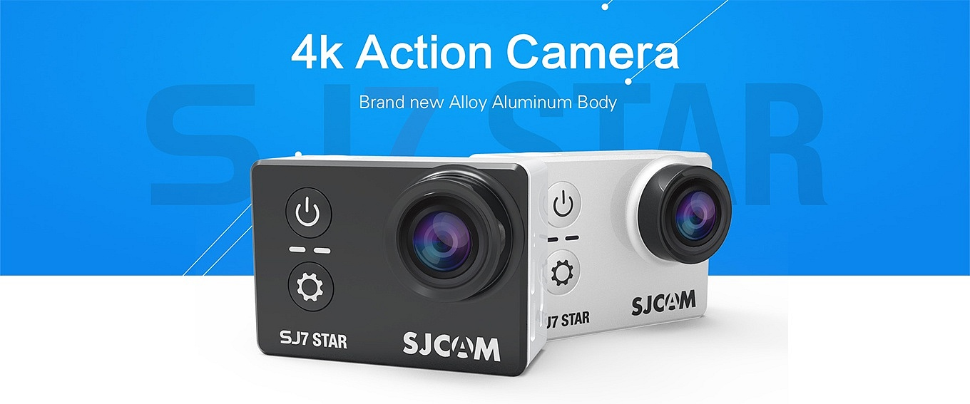 SJCAM SJ7 Star - native 4K resolution!