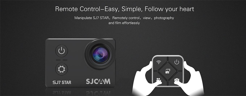 SJCAM SJ7 sao - Điều khiển từ xa