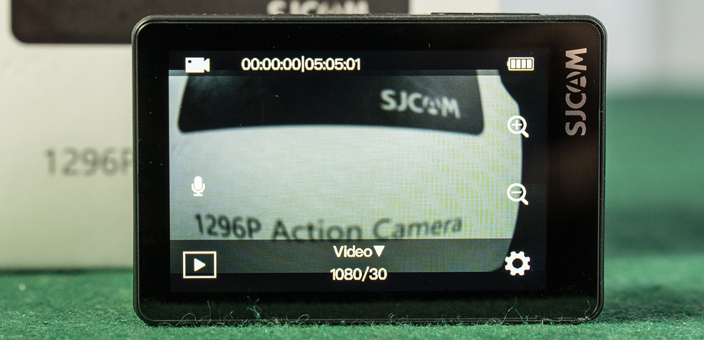 SJCAM SJ8 Air - Homescreen
