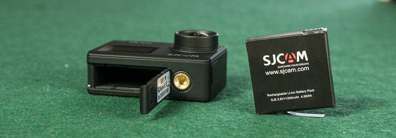 SJCAM SJ8 Plus - Battery
