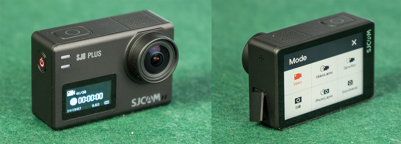 SJCAM SJ8 Plus - Body, Buttons & PortsSJCAM SJ8 Plus - Body, Buttons & Ports