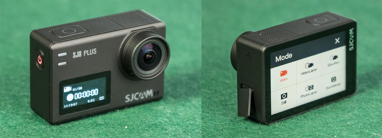 SJCAM SJ8 Plus - Body, Buttons & PortsSJCAM SJ8 Plus - Body, Buttons & Ports