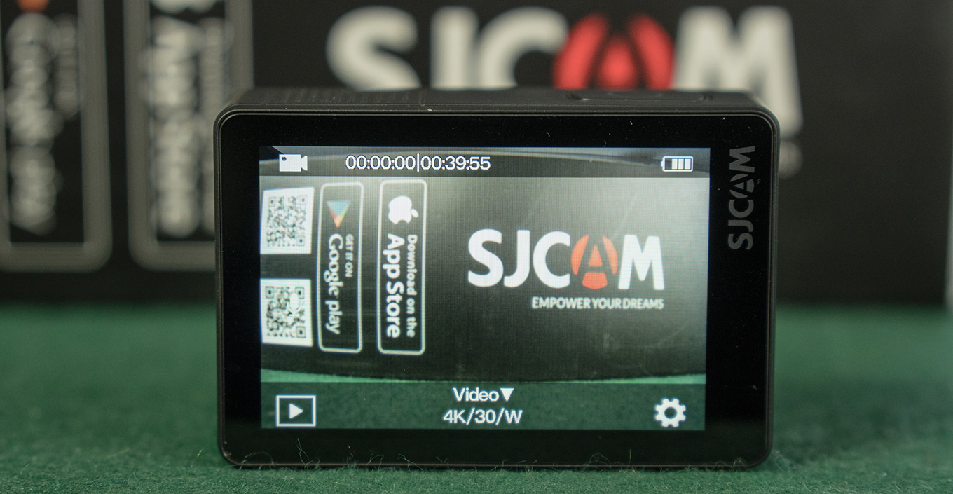 SJCAM SJ8 Plus - Homescreen