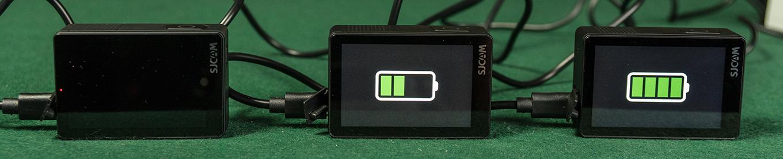 Battery Charging on SJ8 Pro, SJ8 Plus & SJ8 Air