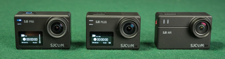 Front Display on SJ8 Pro & SJ8 Plus