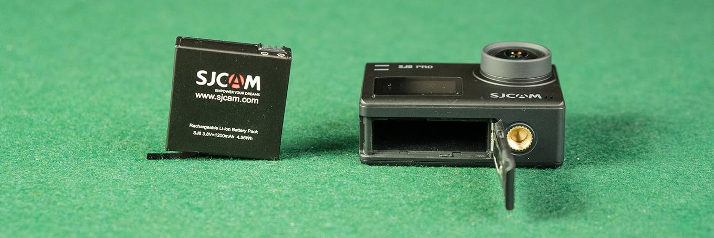 SJCAM SJ8 Pro - Battery