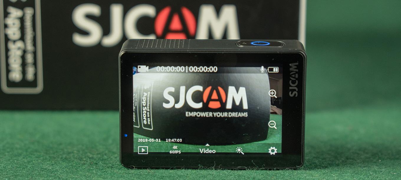 SJCAM SJ8 Pro - Homescreen