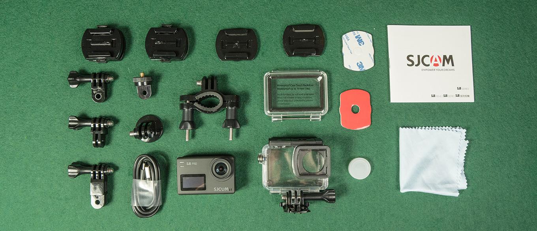 SJCAM SJ8 Pro - Included Accessories