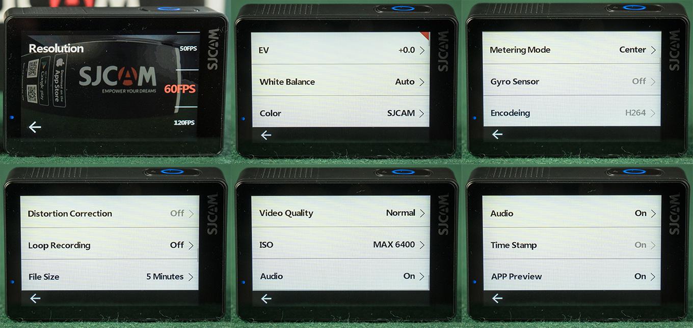 SJCAM SJ8 Pro - Video Settings