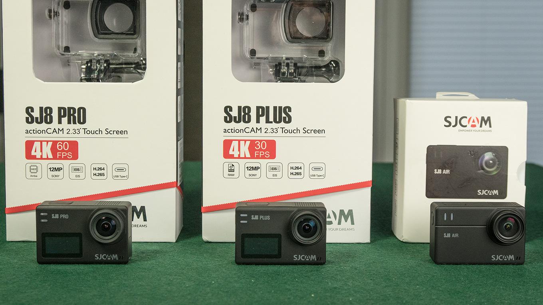 Sjcam Sj8 Series Sj8 Pro Sj8 Plus Sj8 Air Comparison