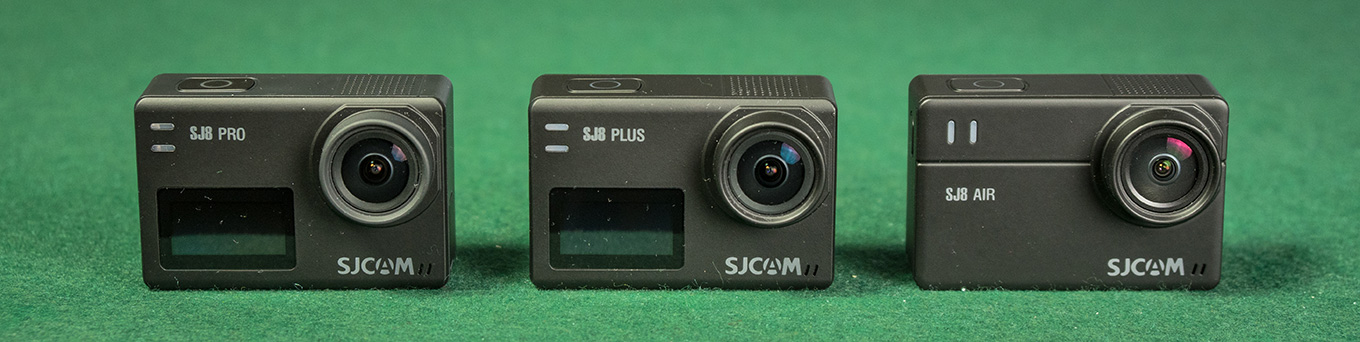 SJCAM SJ8 Pro vs SJCAM SJ8 Plus vs SJCAM SJ8 Air