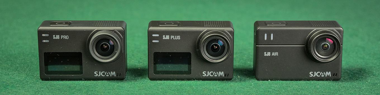 SJCAM SJ8 Pro vs SJCAM SJ8 Plus vs SJCAM SJ8 Air