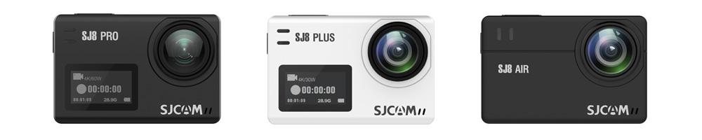 SJCAM SJ8 Series: SJ8 Pro - SJ8 Plus - SJ8 Air