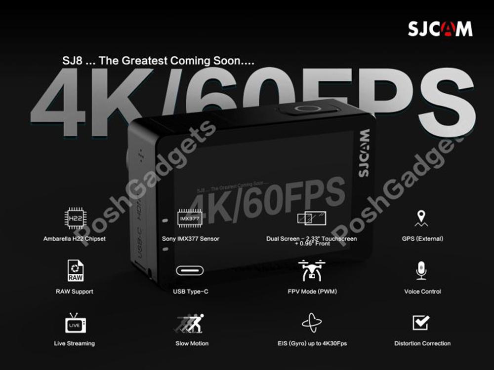 SJCAM SJ8 - Specs & Features