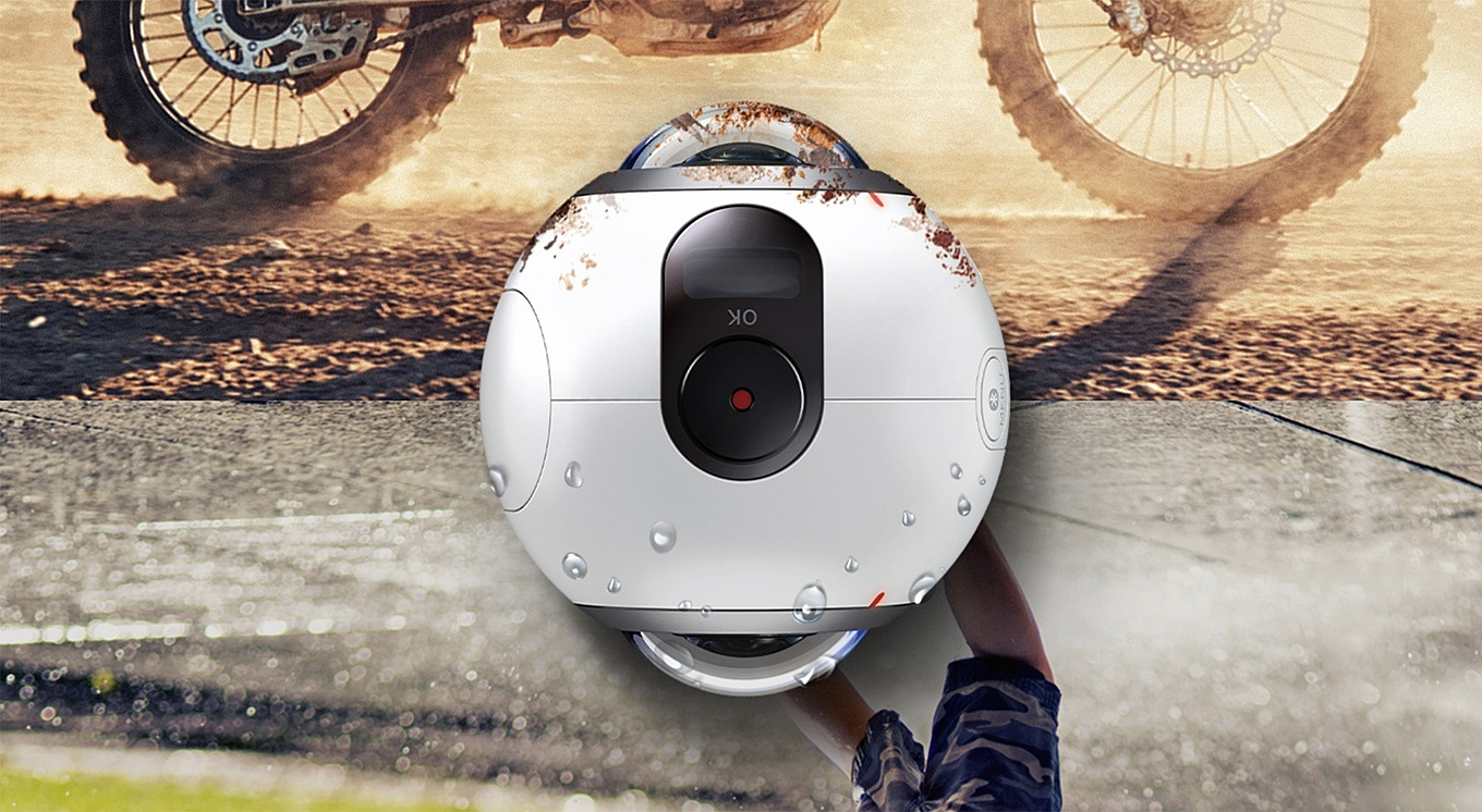 Samsung Gear 360 - Dust and Splash proof