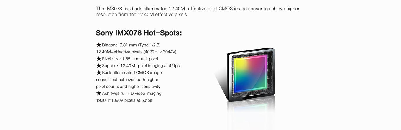 Sony IMX078 Sensor Specs