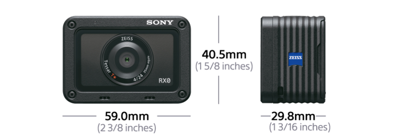 Sony RX0 - Dimensions