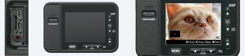 Sony RX0 - Ports, Screen & Focus Adjustment
