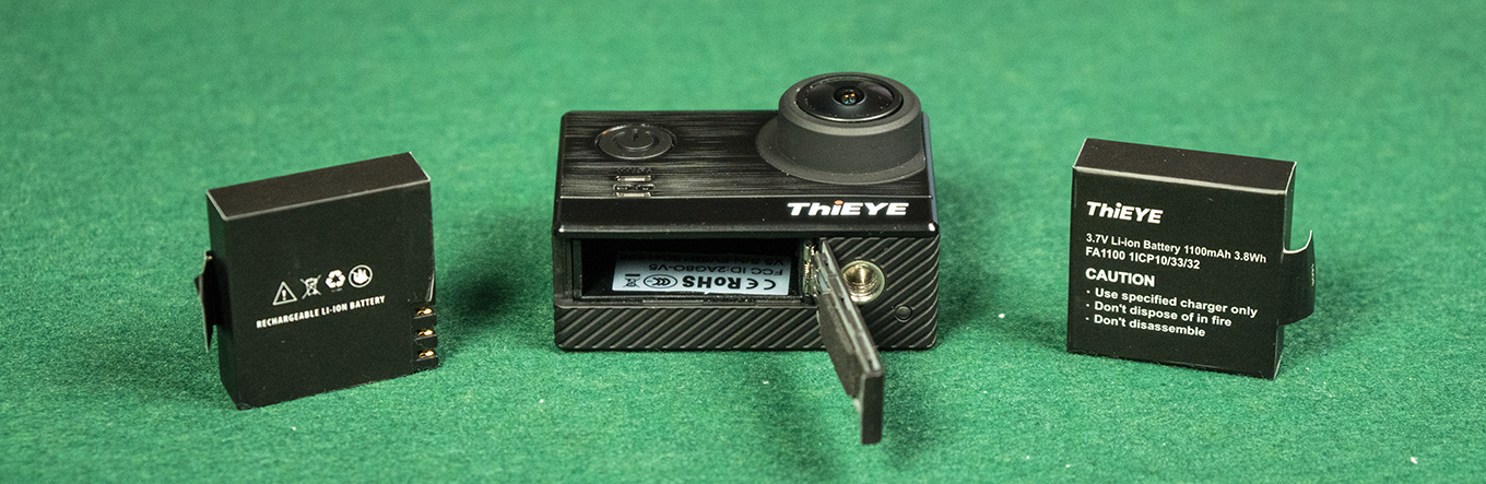 ThiEYE T5 - Batteries